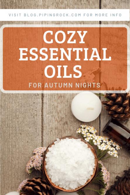 Cozy Essential Oils Pinterest Page