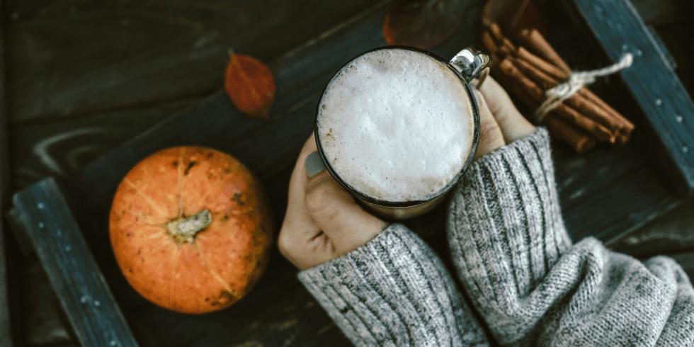 Frothy Pumpkin Spice Latte