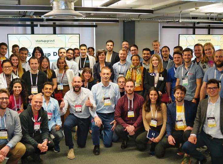 PitchMe and other companies at startup grind europe