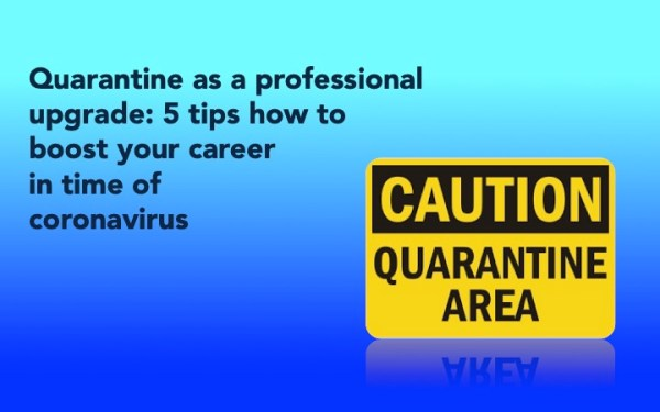 Five tips to boost your career during the pandemic