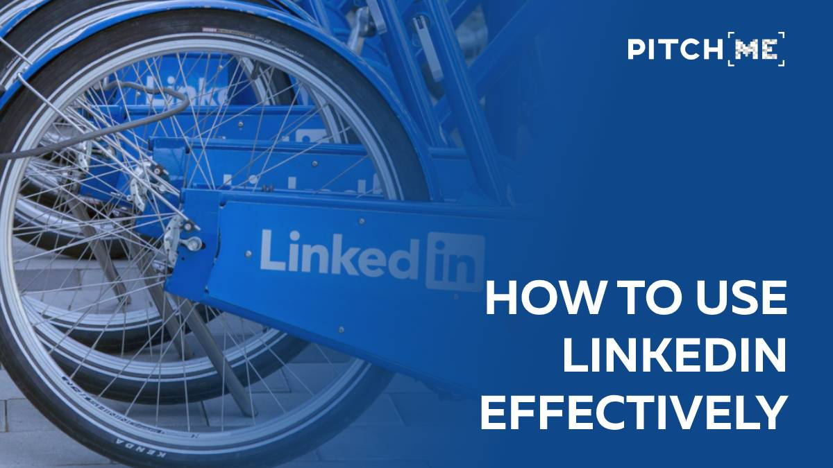 How to use LinkedIn effectively bike image