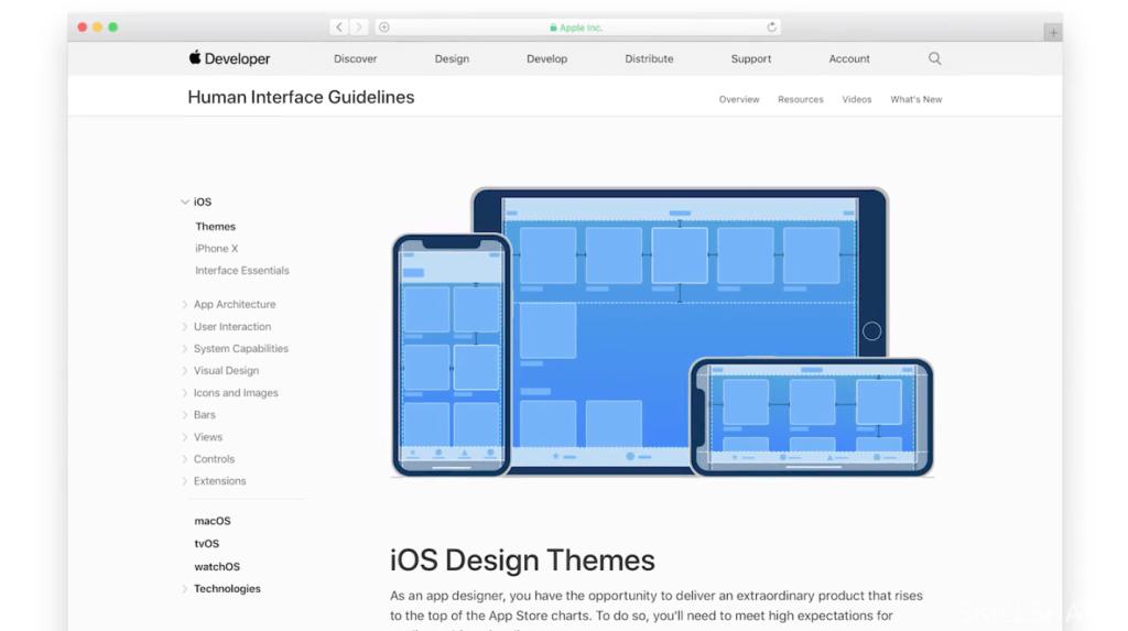 ios design themes