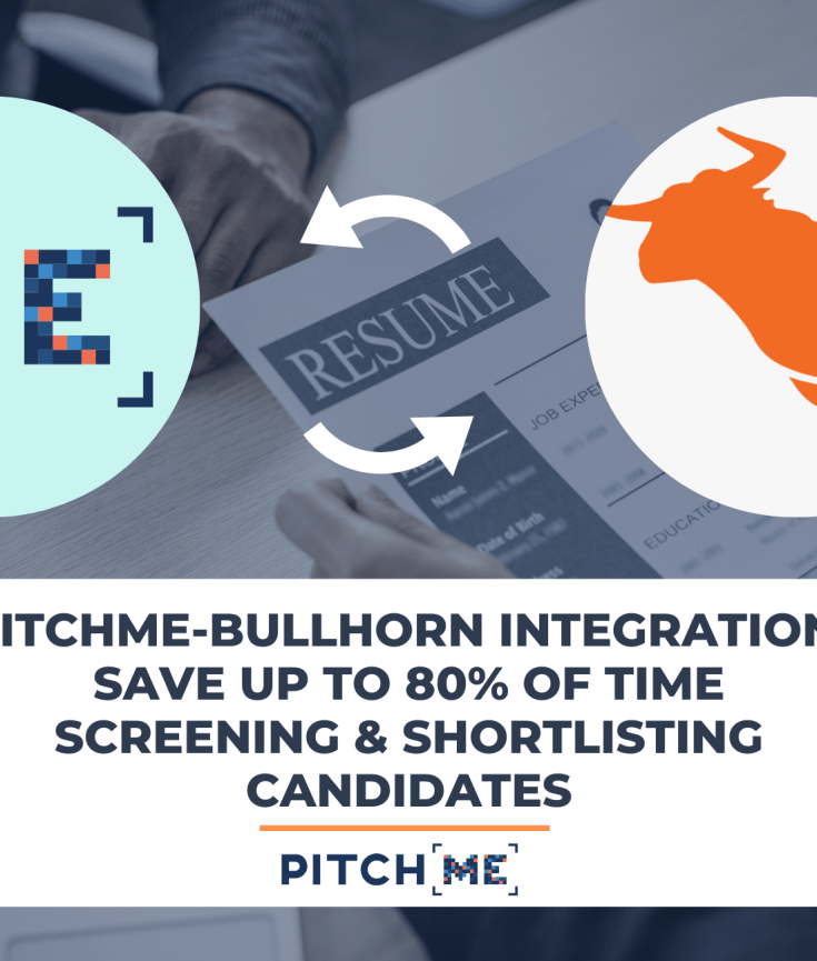 PitchMe integration with Bullhorn