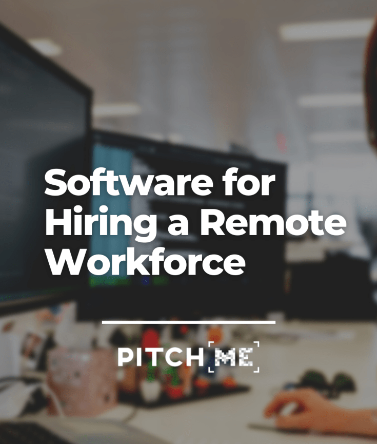 Software for remote hiring