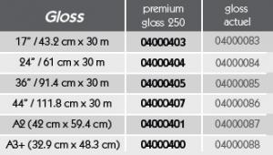 Réf GMG ProofMedia premium Gloss