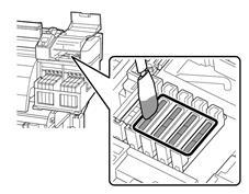Procédure de nettoyage de la gamme de sublimation Epson-nettoyage des caps