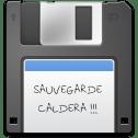 Caldera SaveConfig-disquette