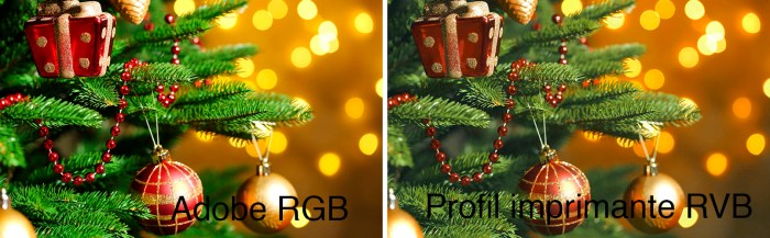 RGB Workflow - comparatif