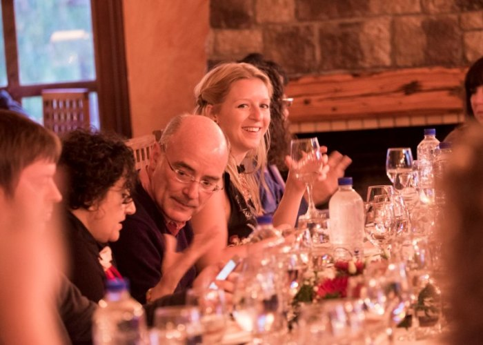 Laura Reynolds at Archontiko Restaurant - Photographer: Ian Southerin