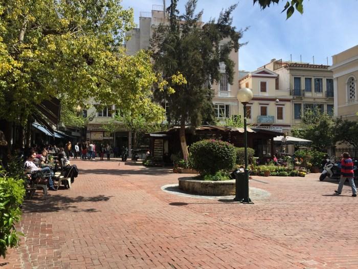 Aghia Irini square, Athens