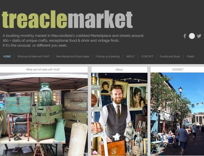 Treacle Market Macclesfied
