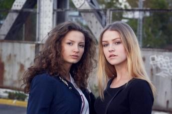 Modelle: Mara + Paula Foto: Ich