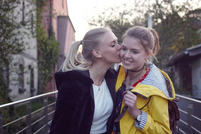 Modelle: Franzi und Bella Foto: Ich