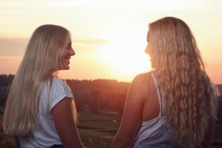 Modelle: Eila und Selina Foto: Ich