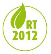 Logo réglementation thermique 2012 - RT2012