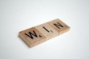Win con Scrabble
