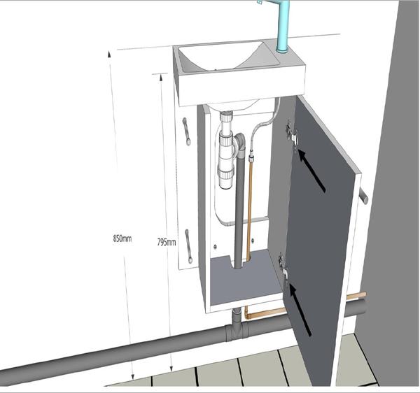 Comment Monter Un Meuble Avec Lave Mains Intgr PlaneteBain