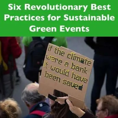 Green Events Best Practices