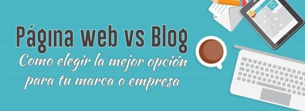 pagina vs blog