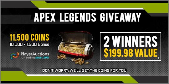 Apex Legends Giveaway