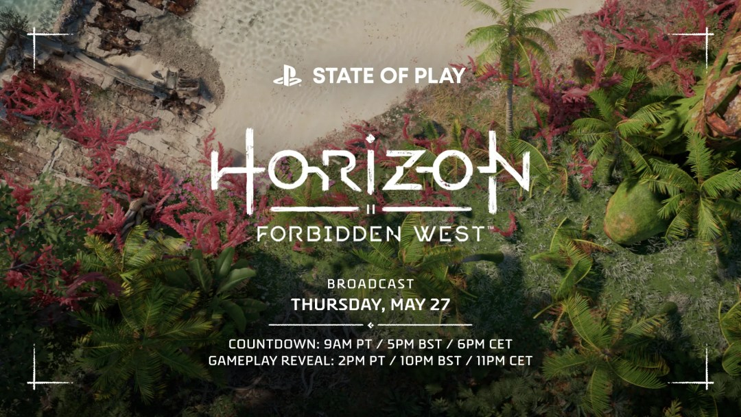 Next State of Play Features Horizon Forbidden West Gameplay Reveal