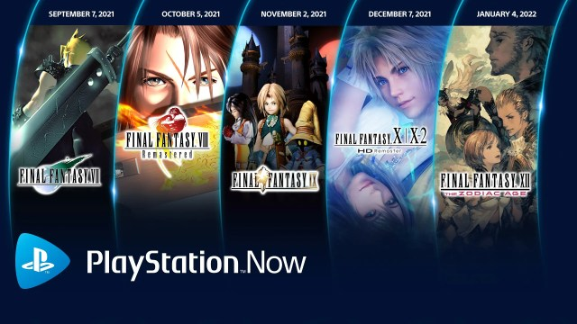 5 Final Fantasy games coming to PlayStation Now starting this month 2