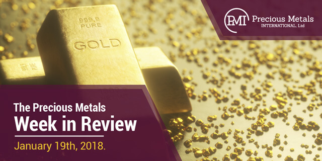 The Precious Metals Week in Review - January 19, 2018.