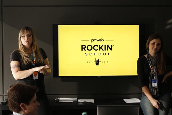 Suelen Giacomele e Surian Engel - Pmweb Rockin' School