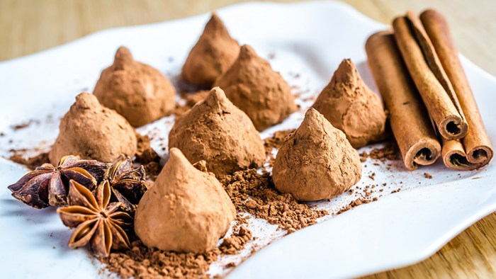 truffles no bake