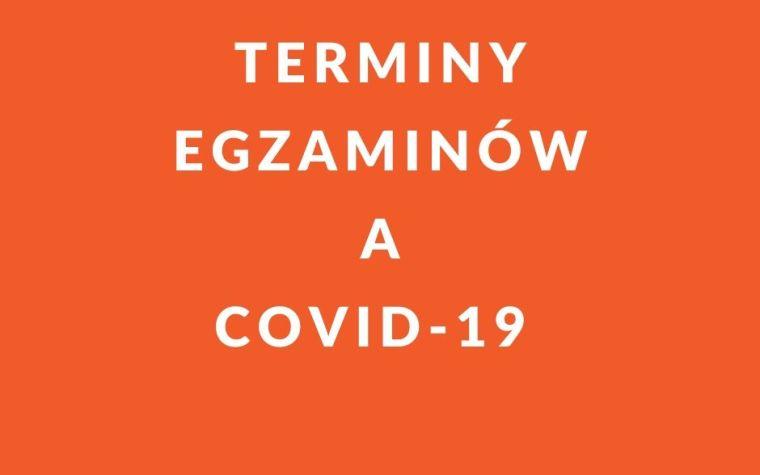 Terminy egzaminów na doradcę podatkowego a COVID-19.