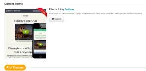 New theme Effector 2.0 by Podbean