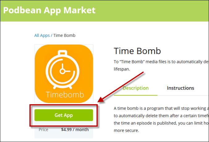 Get time bomb app