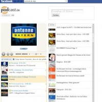 Facebook-App für Podcasts von podcast.de