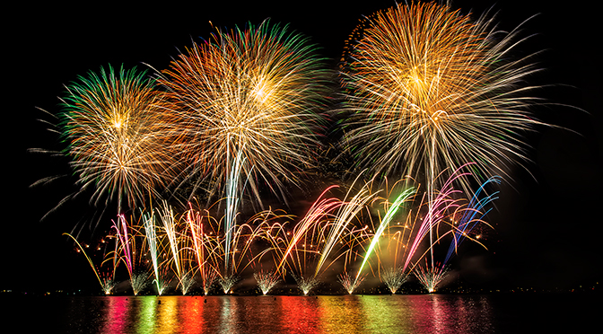 Cannes Fireworks Festival: An Explosion of Colour