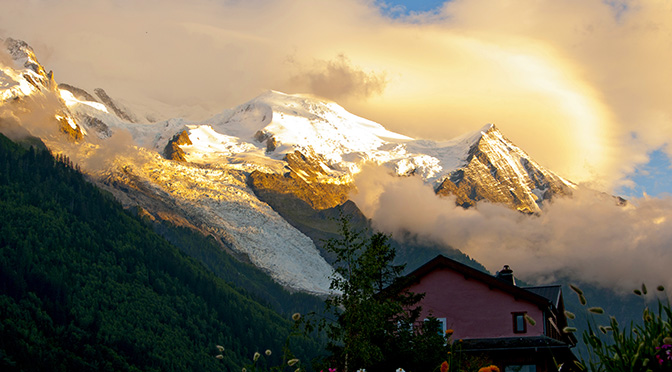 Exploring Mont Blanc