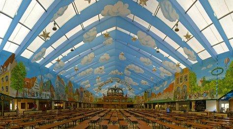 Oktoberfest Beer Halls Munich