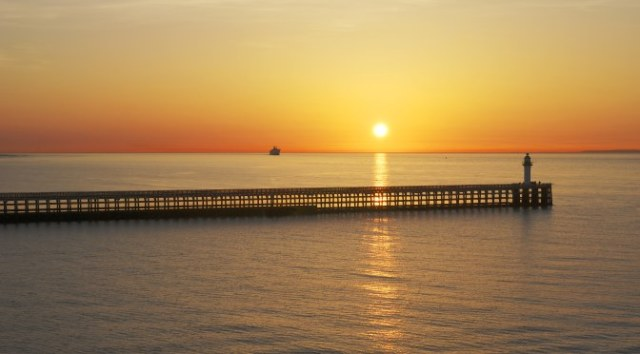 Easter Half Term Holidays in Europe: Calais Sunset