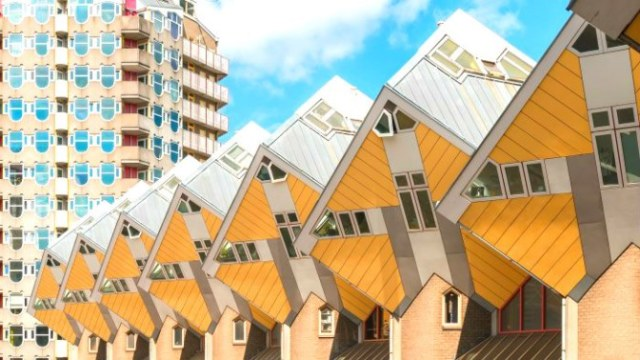 A Day in Rotterdam: Cube Houses Rotterdam Netherlands