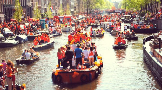 King's Day in Amsterdam: A Royal Dutch Carnival
