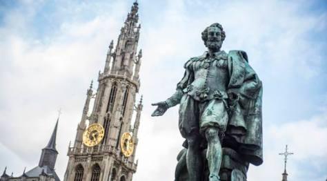 Antwerp City Flanders