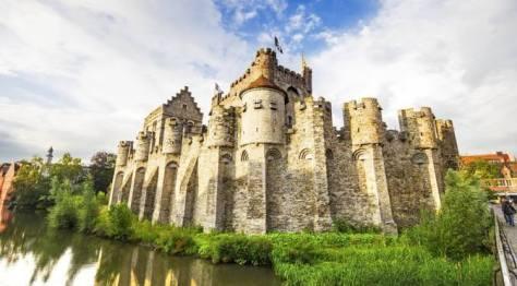 Gravesteen Castle Ghent Flanders