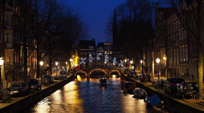 The Amsterdam Light Festival & Other Non-Christmas Activities