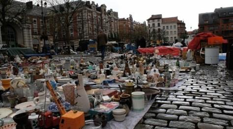Place du Jeu Balle Brussels