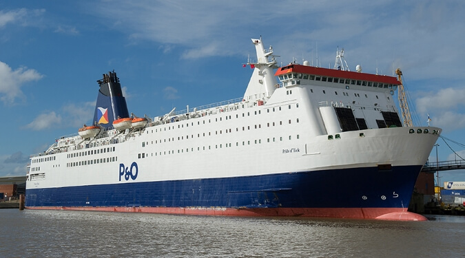 P&O Ferries's Pride of York