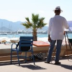 Artist on La Croisette, Cannes