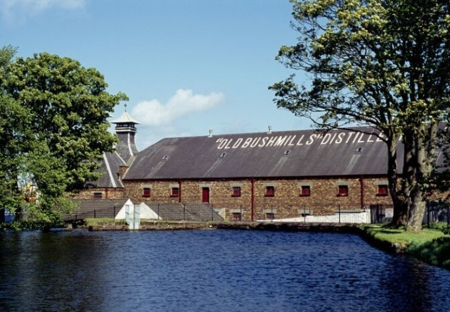 No credit -The Old Bushmills Distillery