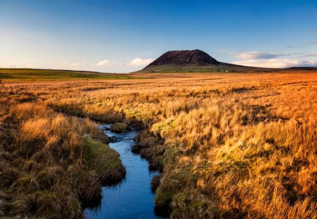 Slemish Mountain by Brian Morrison