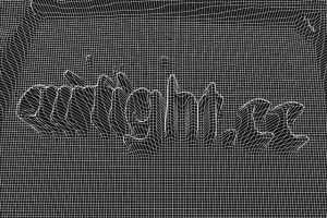A mesh generated with Airtight Interactive's WebCamMesh. Image from Airtight's website.