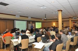 The Pointwise User Group Meeting 2011 was not only our biggest and best ever but inaugurated the Meshy Award.