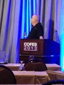 Mike Riddle at COFES 2013